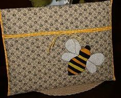 Bumblebee Project Pouch | FaveQuilts.com