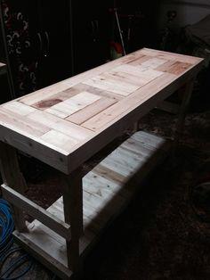 Sideboard Reclaimed Pallet table
