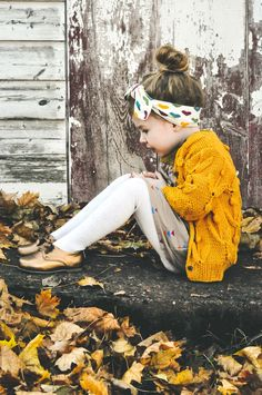 Fall is around the corner. And winter too. #kids #fashion
