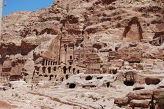 Petra, Jordan - Cliff Carved City In | Water Conservation and Raiders of the Lost Ark
