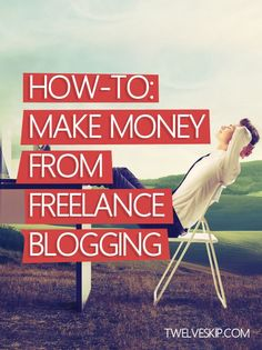 5 Steps To Making Money From Freelance Blogging By The End Of The Month @ http://www.twelveskip.com/guide/blogging/1277/make-money-freelance...