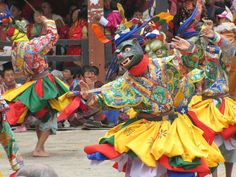 Bhutan Thimpu music festival. One of the oldest festivals in the world.