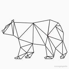 geometric bear - Google zoeken