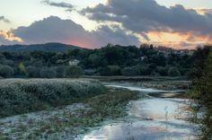 La Riserva Naturale Regionale Ponte a #Buriano e #Penna al tramonto - #arezzo #Toscana #Tuscany #Italy