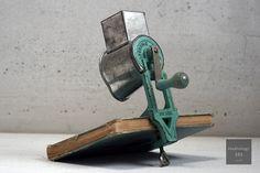 Vintage cheese grinder  www.studiology101.com