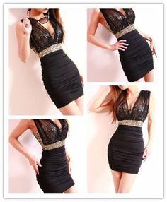 Charming Sexy Women Sheer Mesh Stretchy Slim Fit Elegant Cocktail Evening Dress | eBay