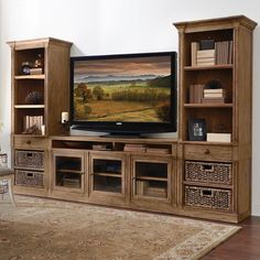 Features:  -Constructed of hardwood solid and ash veneer.  -Top section has two adjustable shelves.  -Center drawer has dovetail joinery and ball bearing extension guides.  -Bottom section has one adj