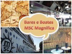 Bares e Boates - Navio MSC Magnífica