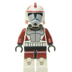 Custom Minifigur - Clone Trooper ARC Ponds Star Wars Klone, Lego Star Wars, Lego Clones, Xmas Wishes, Lego Minifigs, Custom Lego, Clone Trooper, Legos, Iron Man