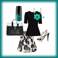 Love Black & White, created by beccabluesky on Polyvore