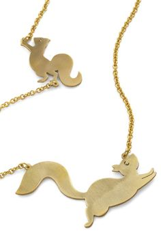 squirrel necklace!