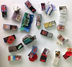 Yr7 personal response to WW1 using match boxes.