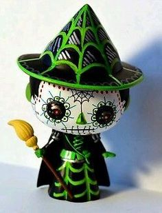 Custom Funko Pop Vinyl Day Of The Dead wizard of oz wicked witch of the west