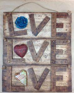 Love, wall decor
