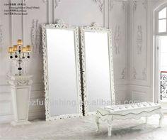 antique barroca esculpir madeira moldura de espelho de chão grande clássico decorado mirror espelho de vestir - portuguese.alibaba.com