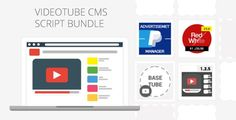 VideoTube CMS Script Pack . VideoTube has features such as High Resolution: No, Compatible Browsers: IE11, Firefox, Opera, Chrome, Software Version: PHP 5.6, MySQL 5.x