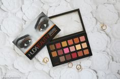 Huda Beauty Rose Gold Palette Review and Swatch Textured Shadows Palette