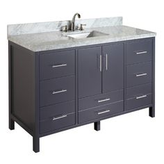 "Found it at Wayfair - California 60"" Single Bathroom Vanity Set"
