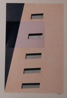 Massimo Premoli, Architettura ir-reale, 2016, foto-disegno