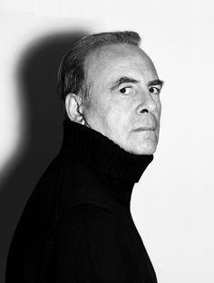 Patrick Modiano (1945) - French novelist. Nobel Prize Literature 2014. Photo by Nicolas Hidiroglou, 2007