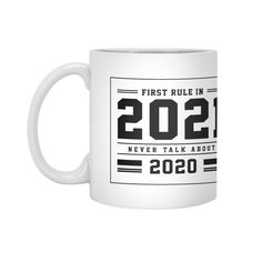 First Rule In 2021 - Funny Quotes Gift | diogocalheiros's Artist Shop Gift Quotes, Funny Quotes, Shopping Humor, Mugs, Artist, Gifts, Funny Phrases, Presents, Funny Qoutes