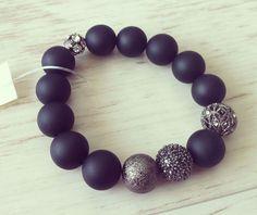No.9 / Jewelry Bracelet Accessory Fashion Design DIY Handmade Crafts 팔찌 쥬얼리 연예인팔찌 핸드메이드 원석쥬얼리