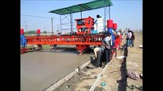Concrete Paving Machine for Road and Airport Taxiway
