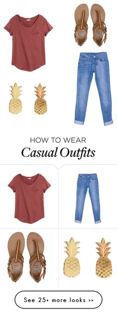 """Classroom Casual"" by readersavvy on Polyvore"