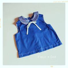 peter pan blouse    #stylish #handmade #fleur and dot