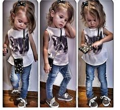 7336375b2 2015 Girls Clothing Set Cute Kids Clothes Babies Clothes Two ... Girl  Fashion,