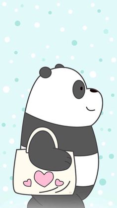 We Bare Bears Wallpaper, characters, games, baby bears episodes Cute Panda Wallpaper, Bear Wallpaper, Kawaii Wallpaper, Disney Wallpaper, Girl Wallpaper, We Bare Bears Wallpapers, Panda Wallpapers, Cute Cartoon Wallpapers, Pardo Panda Y Polar