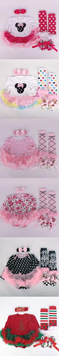 2016 new arrival baby girls outfits baby kids boutique baby girl clothing sets newborn infant girl tutu jumpsuit baby onesie $13.99