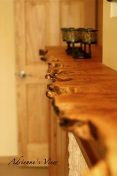 Cool reclaimed wood mantle