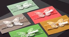 stampin up in colors stampinup stamping up mary fish Swing Card, Mary Fish, Stampin Pretty, Scrapbooking, Scrapbook Cards, Stampin Up Catalog, Butterfly Cards, Pretty Cards, Stamping Up