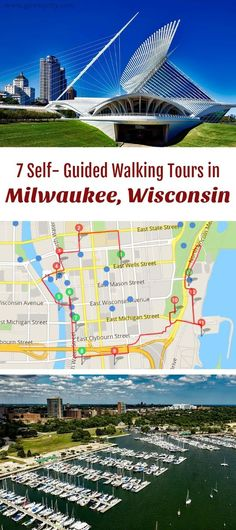 Follow these 7 expert designed self-guided walking tours in Milwaukee, Wisconsin to explore the city on foot at your own pace. Each walk comes with a detailed tour map and together they are the perfect Milwaukee city guide for your trip.