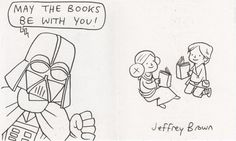 May the books be with you