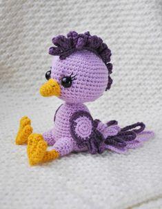 FREE crochet bird pattern