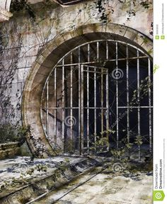 Old Sewer Entrance - Download From Over 59 Million High Quality Stock Photos, Images, Vectors. Sign up for FREE today. Image: 39353533