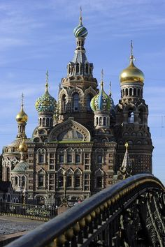 ...and St. Petersburg!  The architecture, the churches, the history.  I can't wait to go!