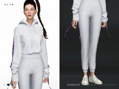 The Sims 4 Charlee Hoodie & Sweatpants Best Sims, Sims 1, Champion Clothing, Sims4 Clothes, Sims 4 Cc Skin, Sims 4 Cc Finds, Sims Resource, Sims 4 Clothing, Sims Mods