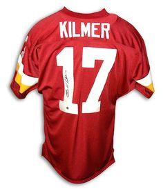 a39be636 Autographed Billy Kilmer Washington Redskins Red Throwback Jersey Arena  Football, Washington Redskins, Nfl Redskins
