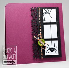 Little Spider card