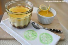 Lemon-Cheesecake aus dem Glas! Rezept auf dem Blog: www.tastearound.blogspot.de
