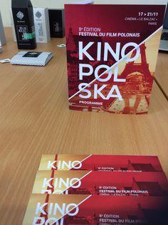 © Julien Rousselet, 3e BACH. - KINOPOLSKA 2015, tickets et dépliant programme du festival des films polonais.