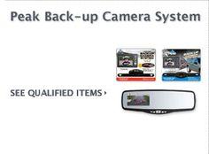 $10 Cash Rebate - PEAK Back-Up Camera System    FREE CASH on Auto Parts