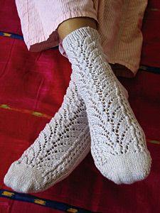 Mirabella Lace Socks by Mary Joy Gumayagay