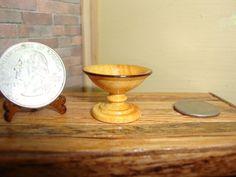 "Dollhouse Miniature 1:12 Cookware & Tableware Bowl Handcrafted ""Oppi"" OOAK #D3 #HandcraftedMiniaturesbyOppi"