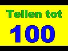 Tellen tot 100, 1 keer langzaam 1 keer snel.