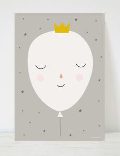 Lámina infantil coronita globo. Mucho más diversión, aprendizaje y cultura para niños y para toda la familia en www.solerplanet.com