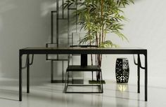 http://www.pinterest.com/joliesarts ∗ »☆Elysian-Interiors ♕Simply Divine #Interiordesign ~ Chinese table or desk ~
